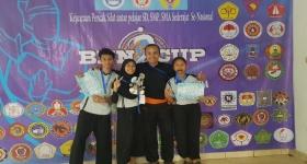 SMP KOSGORO BOGOR Meraih Perstasi Di BNN CUP 2 Antar Pelajar Se-Indonesia